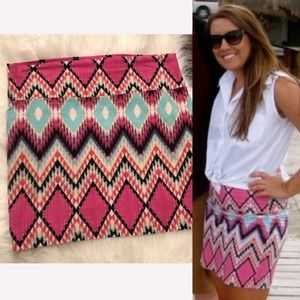 💜3/$15 <Charlotte Russe> Patterned Skirt